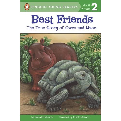 Best Friends: The True Story Of Owen And Mzee (Penguin Young Readers, Level 2) (English Edition)