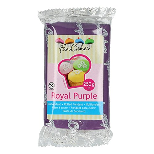 FunCakes VIOLET Fondant - Royal Purple -250 g