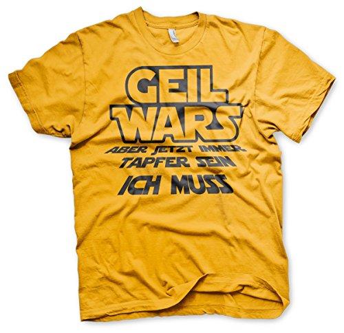 Geil Wars Junggesellenabschied Shirt Motiv 1 Gelb