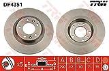 TRW Brake disc (Pair)-df4351