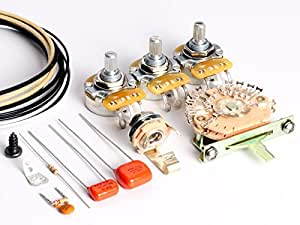 toneshaper guitar wiring kit for fender hss stratocaster hss2 auto split wiring. Black Bedroom Furniture Sets. Home Design Ideas