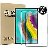 Ash-case Samsung Galaxy Tab S5e T720/ T725 Protector de Pantalla, HD Ultra Transparente Claro Anti-Huella Digital Lámina de Vidrio a Prueba de Balas de Vidrio, Dureza 9H, 2.5D