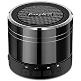 EasyAcc Mini Altoparlante Bluetooth Portatile Ricaricabile, Bluetooth Boxe Wireless Speaker per iPhone, iPad, Tablet PC, Supporto Micro SD Card di Gioco e la Funzione FM Nero