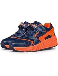 Los Hijos Patines De Ruedas Para Los Hombres y Las Mujeres Los Zapatos Del Rodillo Automáticos Deportes