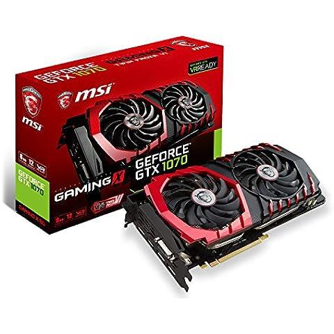 MSI GeForce GTX 1070 GAMING X 8G Scheda Grafica da