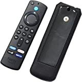 Zaoma Flip Cover Compatible for Remote Control of All-New Alexa Voice Remote of Fire TV Stick (3rd Gen, 2021) - Black