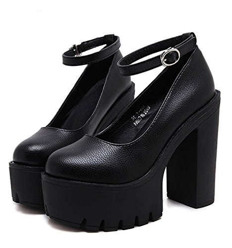 minetom-womens-elegant-round-toe-high-heel-shallow-mouth-court-shoes-solid-color-thick-platform-pump