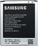 SAMSUNG EB - L1M7FLU BATTERY AKKU NEW 1500 mAh GALAXY S3 MINI GT-I8190 BUILT IN NFC ANTENNA (4 GOLD TERMINAL BATTERY - BULK PACKAGING)
