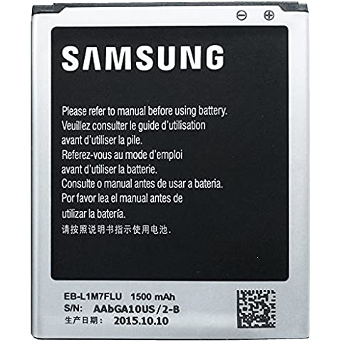 Samsung EB-L1M7FLU - Batería para Samsung Galaxy S3 Mini i8190 I8200 (1500 mAh)