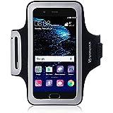 Coque Huawei P10, Shocksock Brassard Armband Sport pour Huawei P10 Accessoires - Noir