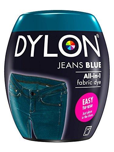 Dylon Dye Pod Textilfärbemittel für die Waschmaschine, 350 g, Jeansblau