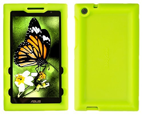 BobjGear Custodia Robusta BOBJ per ASUS ZenPad C 7.0, Z170C, Z170CG, Z170MG, P01Z Protezione Tablet Caso (Verde)