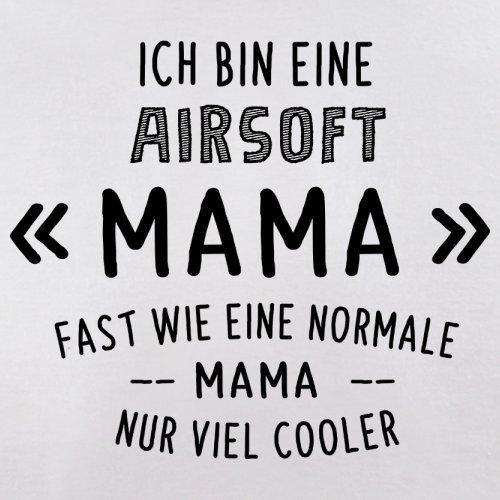 Ich bin eine Airsoft Mama - Herren T-Shirt - 13 Farben Weiß