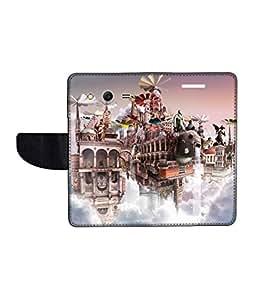 KolorEdge Printed Flip Cover For Samsung Galaxy Core 2 Multicolor - (45KeMlogo09652SamCore2)