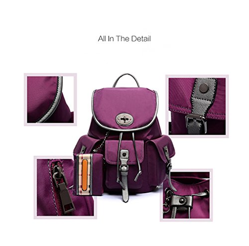 The Traver, Borsa a zainetto donna small Mei red
