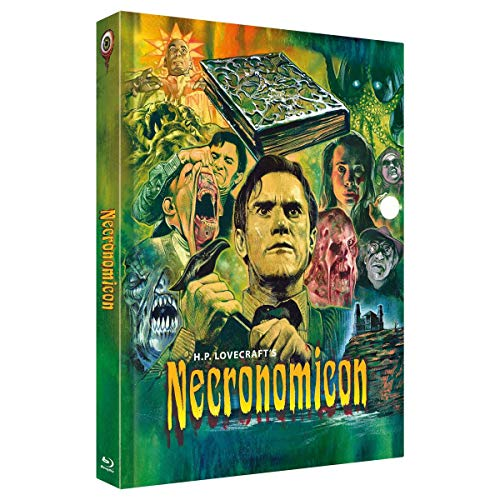 H.P.Lovecrafts Necronomicon - Mediabook - Cover C - 3-Disc Limited Collector's Edition Nr. 31 - limitiert auf 333 Stück (+ DVD) (+ Bonus-DVD) [Blu-ray]