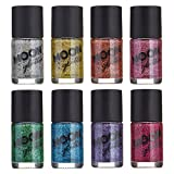 Smalto Olografico Glitter by Moon Glitter - 14ml - Set di 8 colori