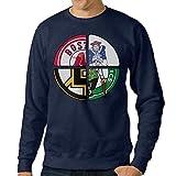bestgifts Hombres de Boston deporte Logo Mixed Crew Cuello Sudaderas...
