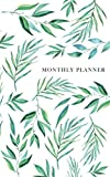 Monthly Planner: undated two-year monthly planner