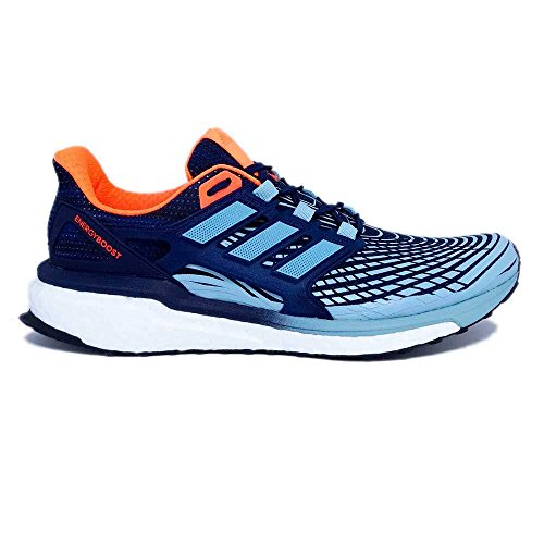 adidas Energy Boost M, Chaussures de Running Homme Bleu (Collegiate Navy/ash Grey S18/solar Orange)