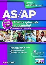 AS/AP Culture générale et actualité Concours 2011
