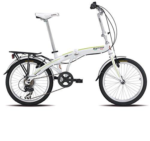 LEGNANO BICICLETA PLEGABLE 800FOLDING 20ALU 6V BLANCO (PLEGABLES)/BICYCLE FOLDABLE 800FOLDING 20ALU 6V WHITE (FOLDING)