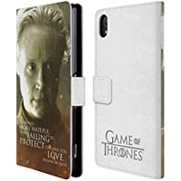Official HBO Game Of Thrones Brienne Of Tarth Character Portraits Leather Book Wallet Case Cover For Sony Xperia Z2