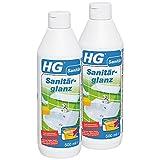HG Sanitärglanz, 2er Pack(2 x 500 ml)