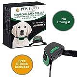 2018 No Shock Anti Bark Collar Pet Dog Barking Control No Prong Comfort