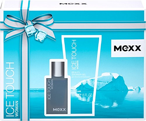 Mexx Ice Touch Woman Eau de Toilette Spray 15 ml + Shower Gel 50 ml, 65 ml