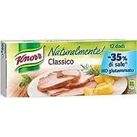 Knorr - Naturalmente Classico, Senza Conservanti, Coloranti E Grassi Idrogenati - 4 confezioni da 12 dadi [48 dadi]