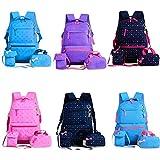 3Pcs/Setchildren Sacs à motif étoiles, un sac à dos, un sac à main et sac à...