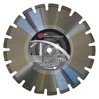 Als 10Standard Diamond Cutting Disc Laser Welded/900mm 25.4mm Hole