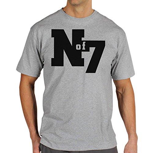 Illuminati Triangle Art Majestic N Of 7 Herren T-Shirt Grau