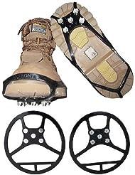 39 - 44 clavos talla L zapatos de goma antideslizante de colour picos de metal negro botas de nieve para niños zapatos