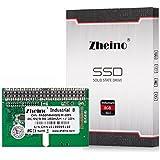 Zheino IDE 44Patas DOM 8GB SLC Industrial B de Disco en Módulo PATA IDE 44Pin DOM Unidad de Estado Sólido Industria Disco Duro SSD Horizontal Socket For Mini-PC (Thin Client)
