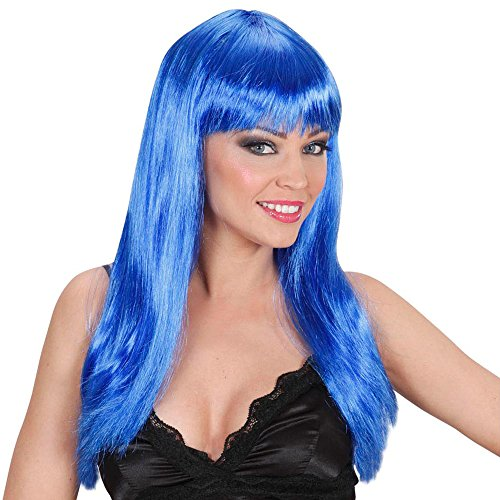 Perücke Beautiful Blau (Haar Kostüm Blau Ideen Perücke)
