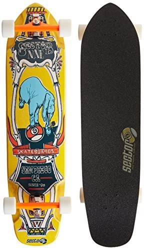 sector-9-mini-daisy-complete-skateboard-yellow-375-x-9125-x-245-2555-inch-by-sector-9