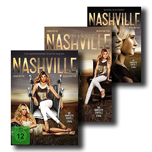 NASHVILLE - Die kompletten Staffeln 1 + 2 + 3 [15 DVD-Set]