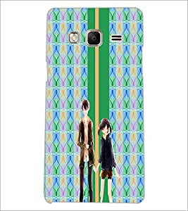 PrintDhaba Couple D-4281 Back Case Cover for SAMSUNG Z3 (Multi-Coloured)