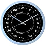 Clock 24 ore - Ultra accurata Facile lettura - 30 cm