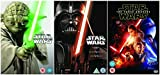 The Complete Star Wars Episodes 1 - 7 [7 disks] Movie DVD Collection: Episode 1 - Phantom Menace / Episode 2 - Attack Of the Clones / Episode 3 - Revenge of the Sith / Episode 4 - The New Hope / Episode 5 - The Empire Strikes Back / Episode 6 - Return of the Jedi / Episode 7 - The Force Awakens by Ewan McGregor