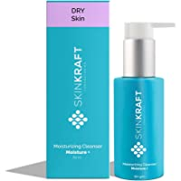 SkinKraft Face Wash For Dry Skin - Customized Moisturizing Cleanser To Hydrate Skin & Prevent Moisture Loss - Gently…