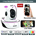 When it comes to security of your family, choose nothing but the best. D3D- World's leader in CCTV & Security Alarm Systems  Description: *D3D IP camera is very easy to setup and operate. Just plug into power source and your Home and Office live ...