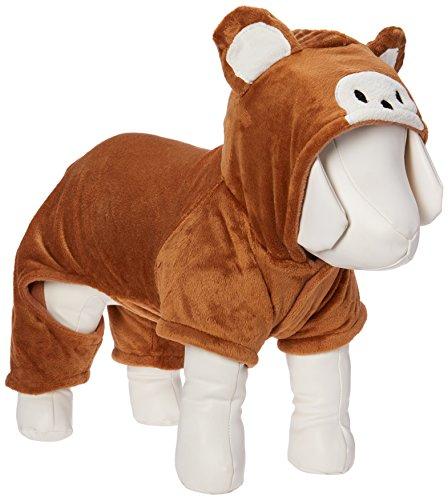 Weibliche Affen Kostüm - Pet-Apartment Pet Cat Dog Kleidung Affe Kostüm Hoodie Samt Fell Overall Kleiner Hund Kleidung L von esingyo