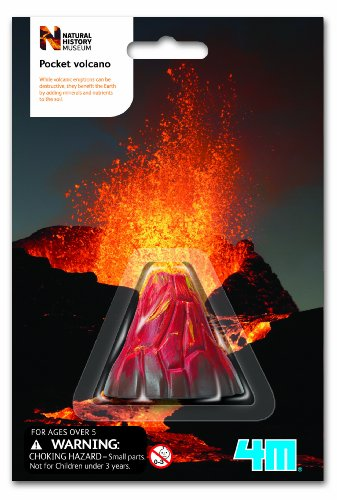 Great Gizmos Natural History Museum Pocket Volcano