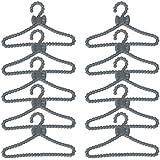 12x plástico muñeca ropa/perchero percha para muñecas de 30cm