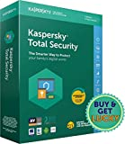 #6: Kaspersky Total Security Latest Version- 1 User, 3 Years (CD)