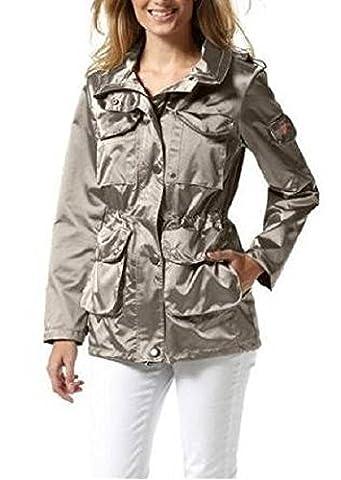 Funktionsjacke Jacke - günstig und gut - in Beige Gr. 34