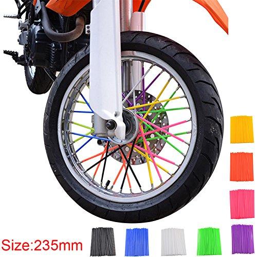 GOOFIT-72-Pz-set-Ruota-Moto-Ruote-Skins-Covers-Cappotti-Trim-Copertura-Tubo-Decorativo-Protezione-Wraps-Kit-Motocross-Dirtbike-Dirt-Bike